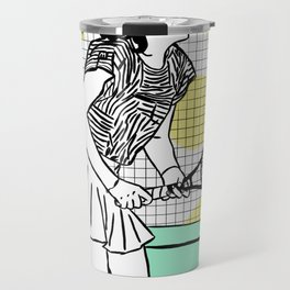 Gabi Sabatini Travel Mug