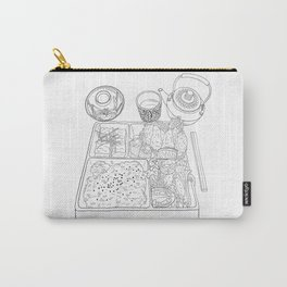 Japanese Bento Box - Line Art Carry-All Pouch