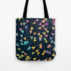 Spirling Triangles Tote Bag