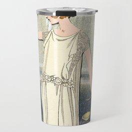 JUSTICE TAROT CARD Travel Mug