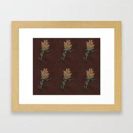 Snake Bouquet Framed Art Print