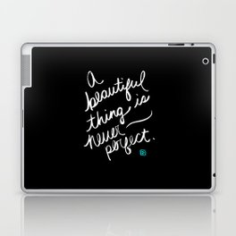 A Beautiful Thing (inverted) Laptop & iPad Skin