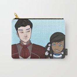 Makorra Wedding Portrait Carry-All Pouch