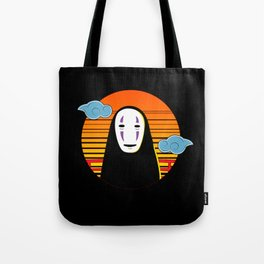 No Face a Lonely Spirit Tote Bag