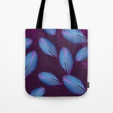 Tillandsia in dark purple Tote Bag