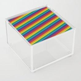 HD Rainbow Acrylic Box