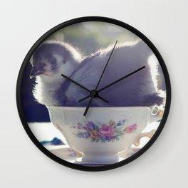 Chick Tea Wall Clock