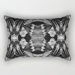 Art Deco 001 gray Rectangular Pillow