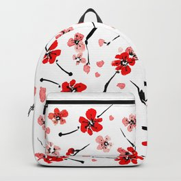 Plum blossom burst Backpack