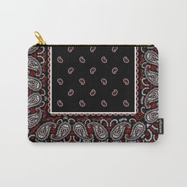 Wicked Black Bandana Carry-All Pouch