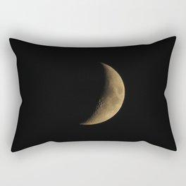 Waxing Cresent Moon 2 Rectangular Pillow