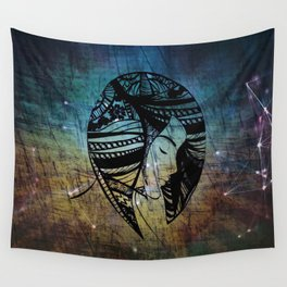 Bring Peace to My Mind Wall Tapestry