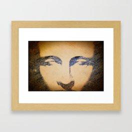 Human Divinity  Framed Art Print