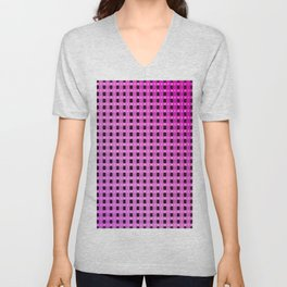 Small and little evening pattern Unisex V-Neck