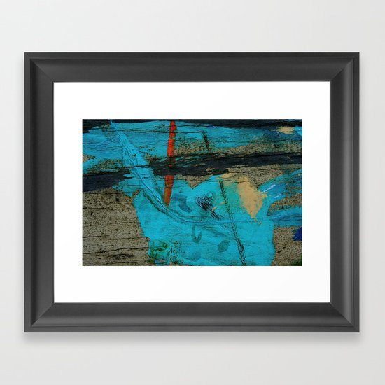 Swath Framed Art Print