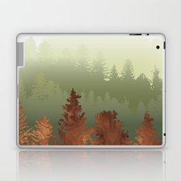 Treescape Green Laptop & iPad Skin