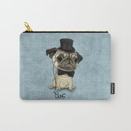 Pug; Gentle Pug (v3) Carry-All Pouch