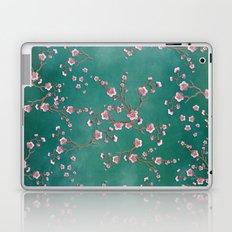 SAKURA LOVE - GREEN Laptop & iPad Skin