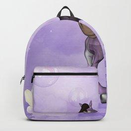 Cute cartoon horse Backpack