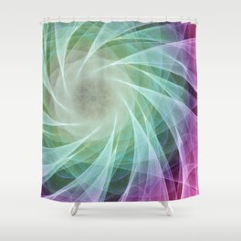 Whirlpool Diamond 2 Computer Art Shower Curtain
