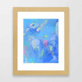 The Dream - Abstract Fresh Contemporary Framed Art Print