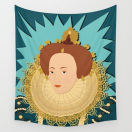 Queen Elizabeth I | Bad Ass Women Series Wall Tapestry