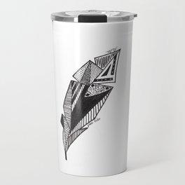 JL Feather Travel Mug