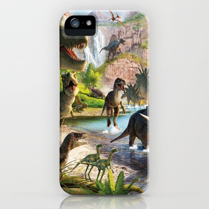 jurassic dinosaur iphone case