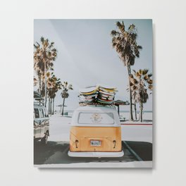 lets surf / venice beach, california Metal Print