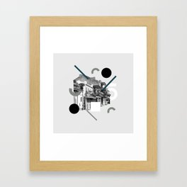 Domio Collage Residential Collage Framed Art Print