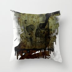 Skulldrip Throw Pillow