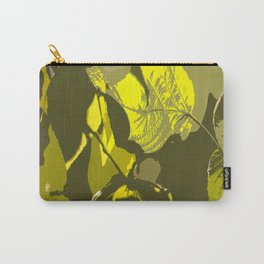 Autumn leaves bathing in sunlight #decor #society6 Carry-All Pouch