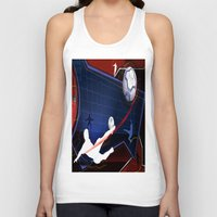 soccer Tank Tops featuring Soccer by Robin Curtiss