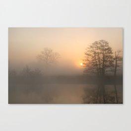 Dawn on the Thames Canvas Print