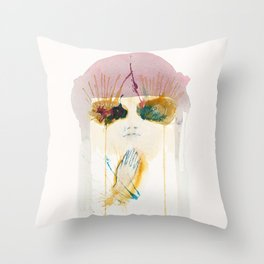 Tunnel Vision Pt.2 Throw Pillow