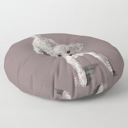 Sam the Poodle Floor Pillow