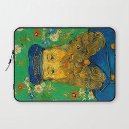Vincent van Gogh - Portrait of Postman Laptop Sleeve