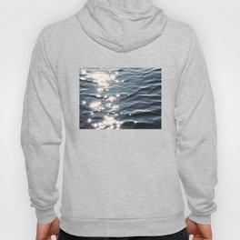 Sunlight on Ocean Water Waves Hoody
