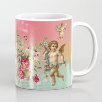 romantic Mugs featuring romantic by mark ashkenazi