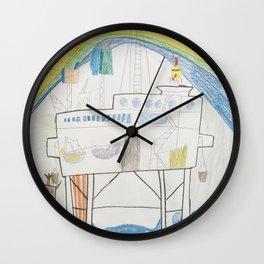 Ocean Oil Rig Wall Clock