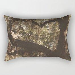 Tree heart in Historic Avadale Jacksonvll Florida Rectangular Pillow