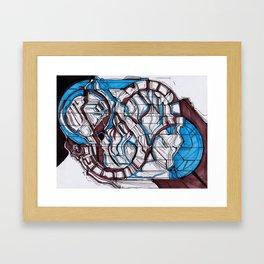 Schemata Framed Art Print