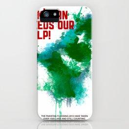 PK Flooding iPhone Case
