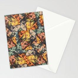 LSD Flesh Of The Devil Collage Stationery Cards