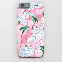 Pamukkale iPhone Case