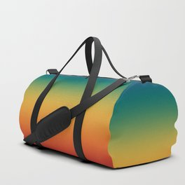 Colorful Gradient Pattern Abstract Rainbow Duffle Bag