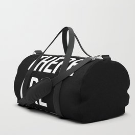 WHEN THERE ARE NINE. - Ruth Bader Ginsburg Duffle Bag