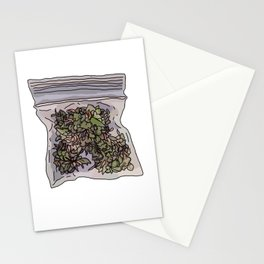 Pack of weed Stationery Cards