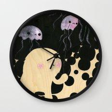 Jellyfish Wrangler Wall Clock