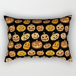 Jack o' Lantern Rectangular Pillow